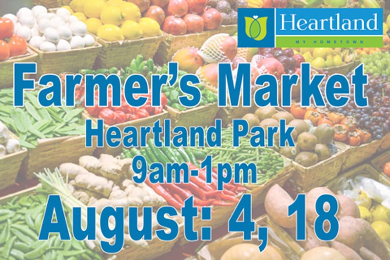 Heartland Farmer's Market – August