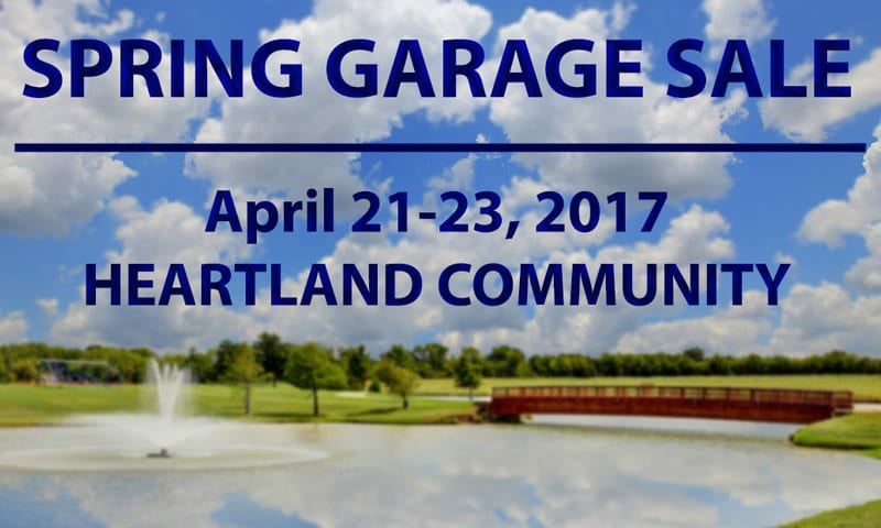 Spring Garage Sale