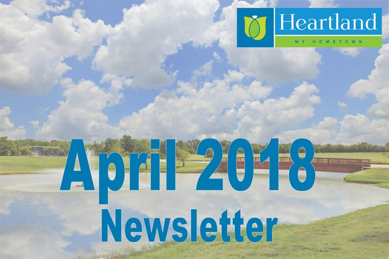 April 2018 Newsletter
