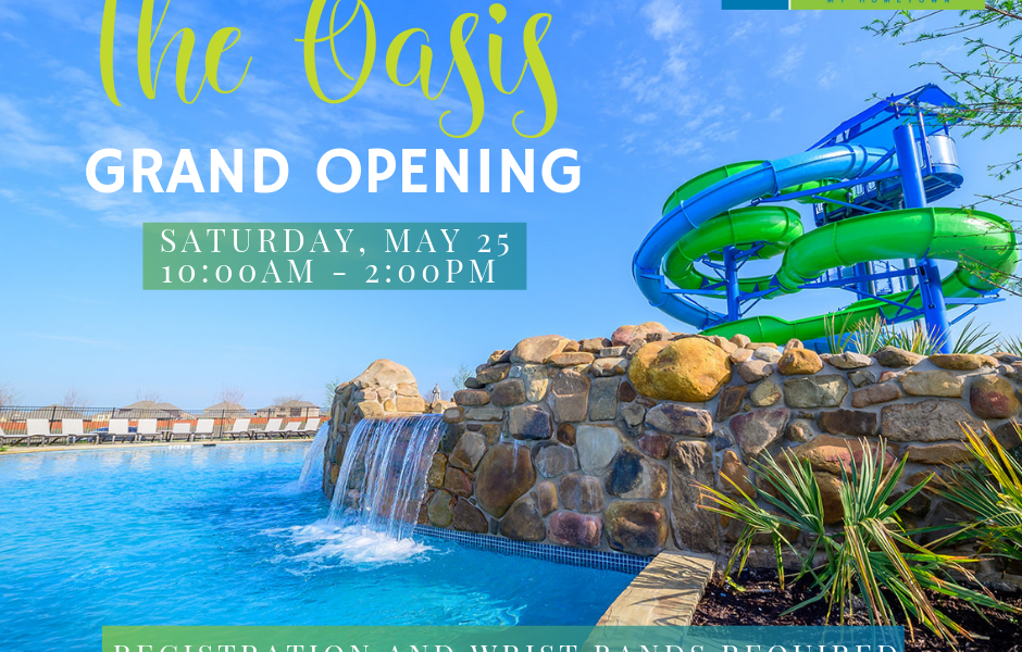 The Oasis Grand Opening Event