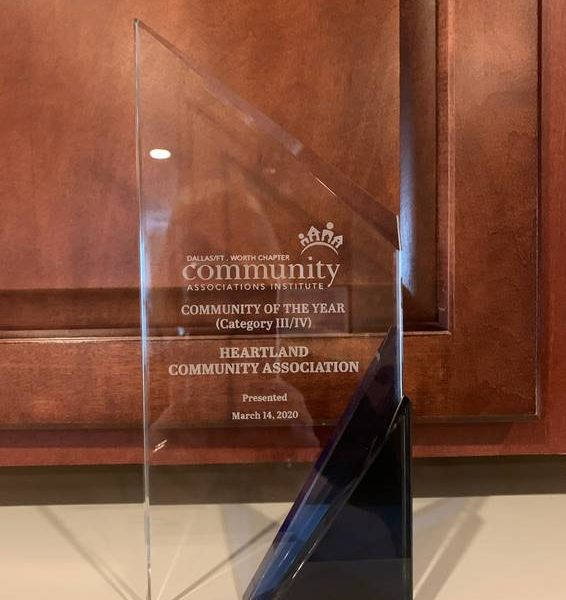 Heartland is Community of the Year!